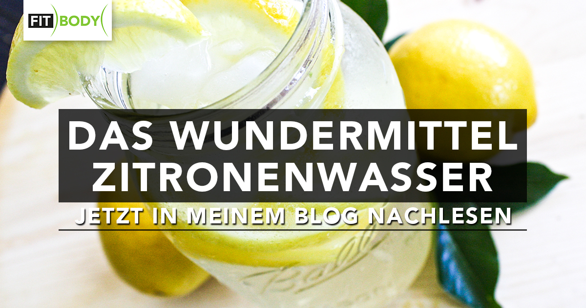 FIT-BODY-Zitronenwasser